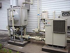 三菱電機 冷水機(仕込水チラー)&ステンレスパネルタンク MCA-P-75B