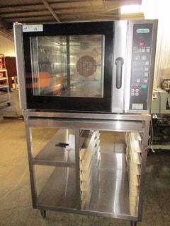 タニコー コンベクションオーブン架台付 TBO-4