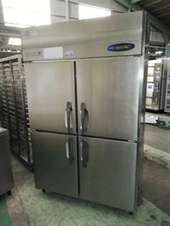 ホシザキ電機 業務用4枚扉冷凍庫 HF-120ZW3