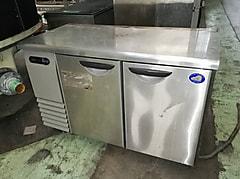 三洋電機 2枚扉コールドテーブル冷蔵庫 SUR-F1261SA