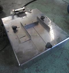 ハクラ精機 小型袋開口機 F-5