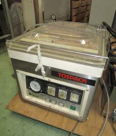 東静電気 トスパック 卓上型自動真空包装機 V-301G