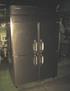 ホシザキ電機 縦型4枚扉冷凍庫 HF-120X3